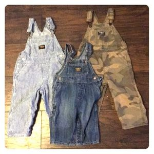 Oshkosh baby overall bundle
